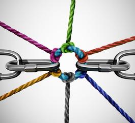 Connect Partnership Concept