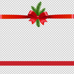 Christmas Background With Xmas Tree Transparent Background