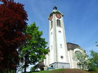 Old christian church in city of Gossau  (Canton St. Gallen, Switzerland)