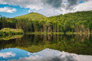 Saco Lake, at Crawford Notch State Park, in the White Mountains, New Hampshire