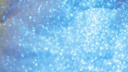 Abstract Blurred Christmas Lights Bokeh