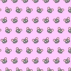 Mouse - emoji pattern 27