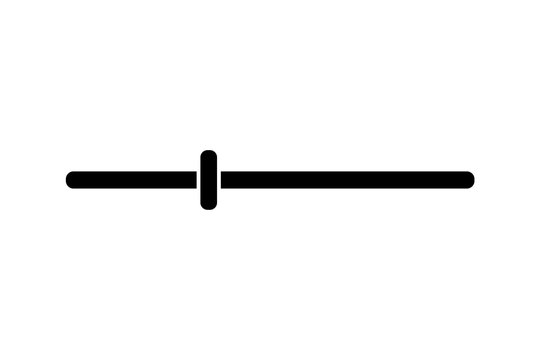 Wire Connection. equalizer thinline icon. vector illustration