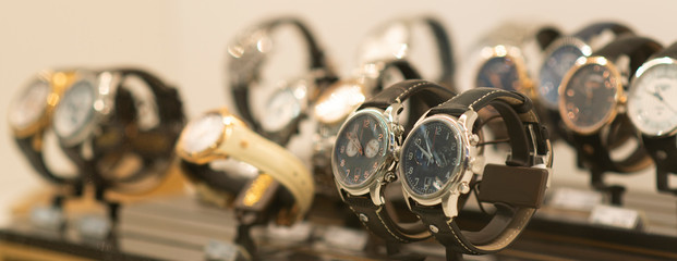 Luxury watches Fototapete