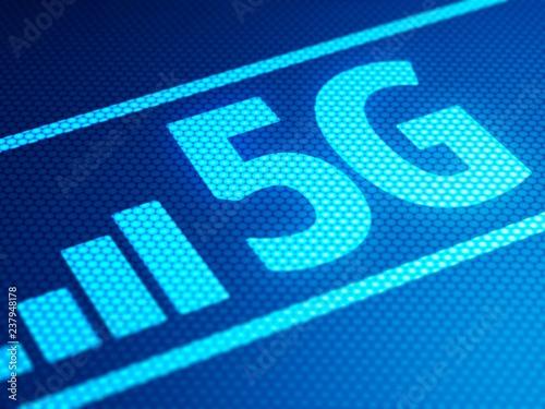5G, illustration
