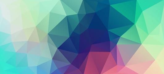 Flat vintage color geometric triangle wallpaper