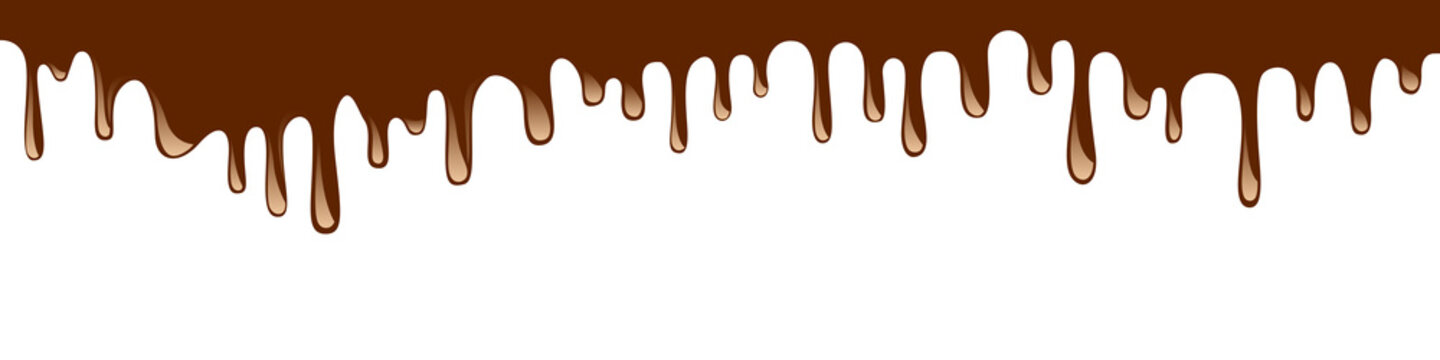 Abstract chocolate background – vector