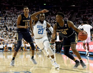 NCAA Basketball: Notre Dame at UCLA