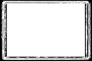 Darkroom Decorative Black Photo Edge / Overlay for Landscape Photos