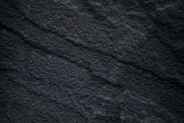Texture dark grey stone ,black slate  patterns natural abstract background