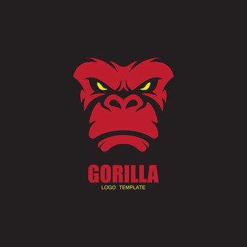 vector gorilla logo
