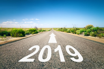 road to horizon New Year 2019