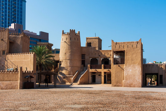 Ajman Museum showing the history of United Arab Emirates