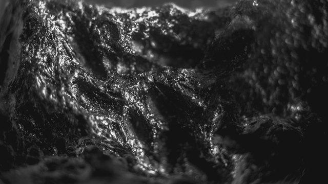 Tektite Meteorite macro background stone close-up - Image