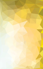 Low Poly abstract background with colorful triangular polygons with a brilliant