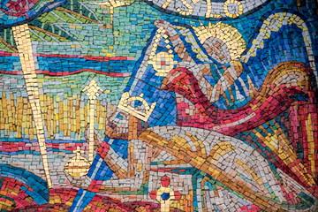 Prag, Peter-und-Paul-Kirche Mosaik
