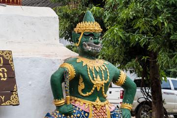 Laos - Luang Prabang - Wat Aham