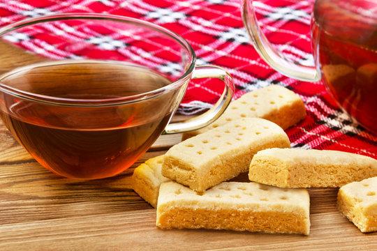 Tea and shortbread