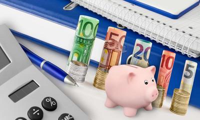 Euro und Sparschein