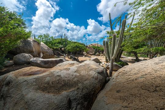 Casibari Felsen auf Aruba