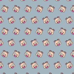 Snail - emoji pattern 38
