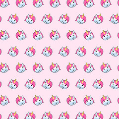Unicorn - emoji pattern 28