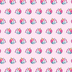 Unicorn - emoji pattern 30