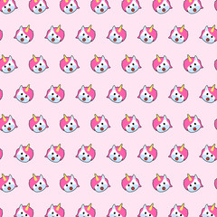 Unicorn - emoji pattern 31