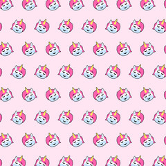 Unicorn - emoji pattern 36