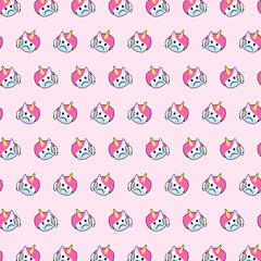 Unicorn - emoji pattern 48