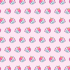 Unicorn - emoji pattern 49