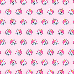 Unicorn - emoji pattern 50