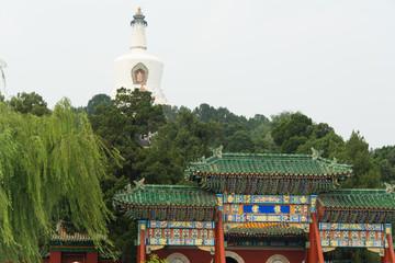 White Stupa Temple, Miaoin Temple, China, Beijing