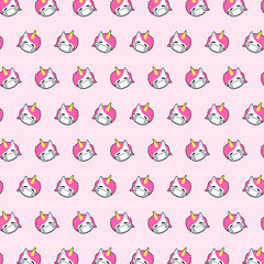 Unicorn - emoji pattern 67