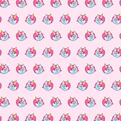 Unicorn - emoji pattern 77