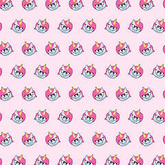 Unicorn - emoji pattern 78