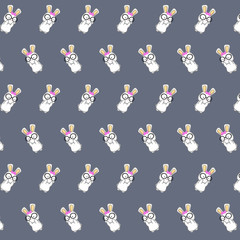Bunny - sticker pattern 18
