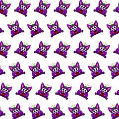 Purple gremlin - sticker pattern 15