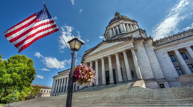 Washington State Capitol Olympia Seattle Washington USA