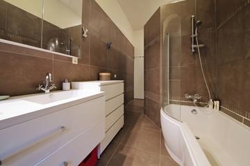 salle de bain appartement bain douche