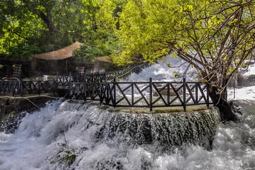 Ahmad Awa waterfall in Kurdistan, Iraq