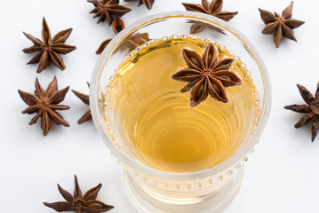 Star Anise Hot Cider Beverage