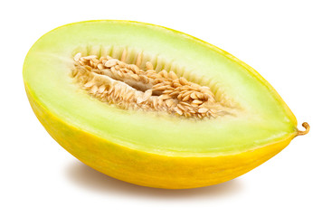 yellow honeydew melon