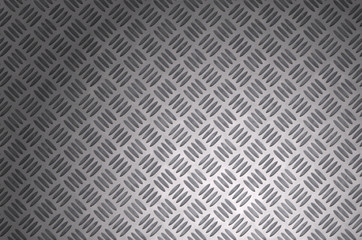 blurred diamond metal plate surface with spot light effect