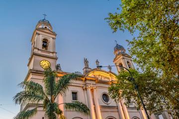 Foto op Plexiglas Zuid-Amerika land Montevideo Basilica, Old Town, Montevideo