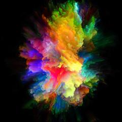 Visualization of Color Splash Explosion