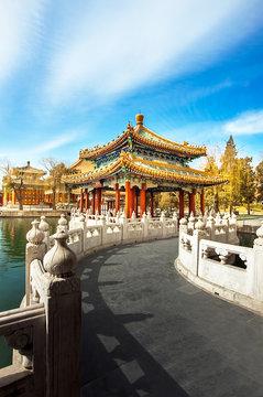 In the Beihai Park in Beijing China
