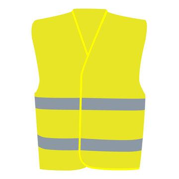 Yellow Vest Illustration