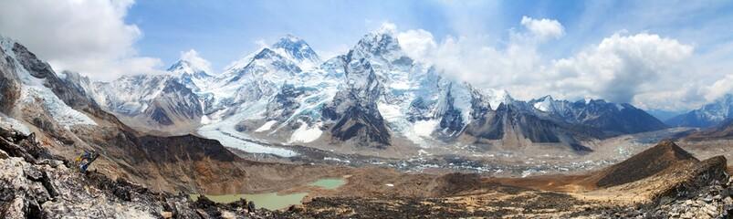 Mount Everest Khumbu Glacier Nepal Himalayas mountains Wall mural