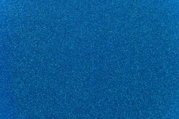 Sky Blue Glitter Background